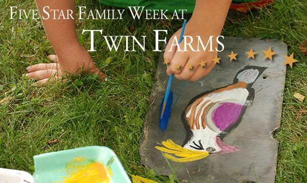 Countdown to Family Week at Twin Farms
