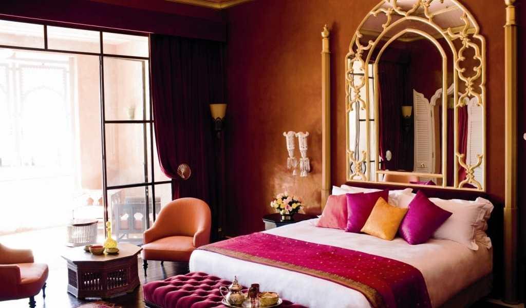 A room at the Taj
