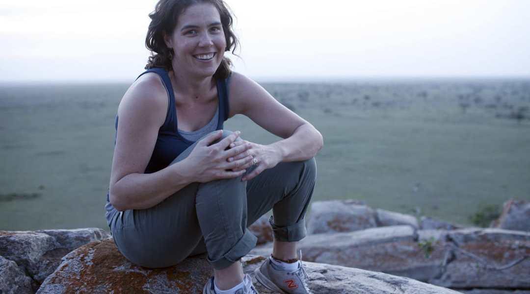 Erin in Loliondo, Tanzania