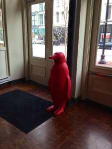 Guarding the doors