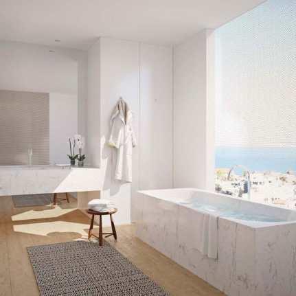 Guest bath W Hotel Tel Aviv