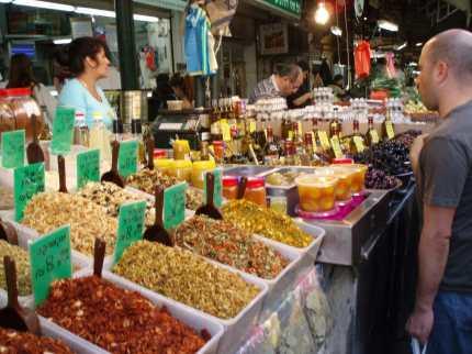 A market...