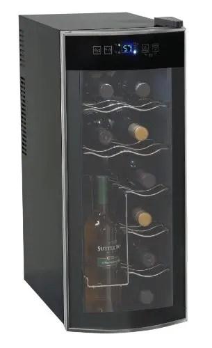 Avanti 12 Bottle Thermoelectric Counter Top Wine Cooler - Model EWC1201