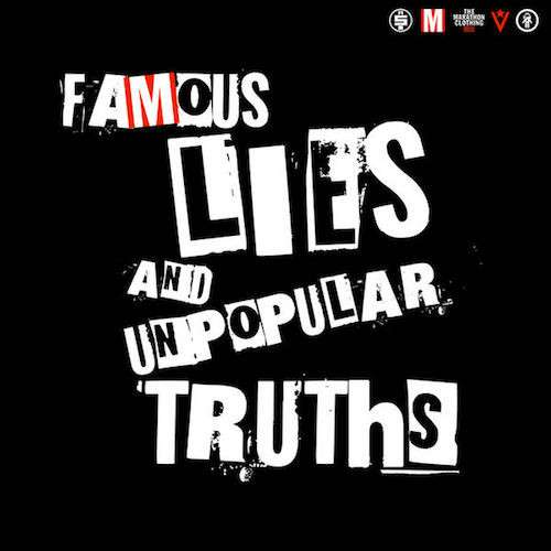 famous lies popular truths