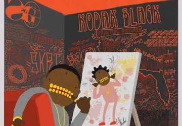 kodak black painting pictures album stream