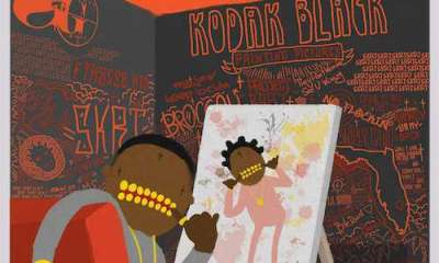 kodak black painting pictures album stream