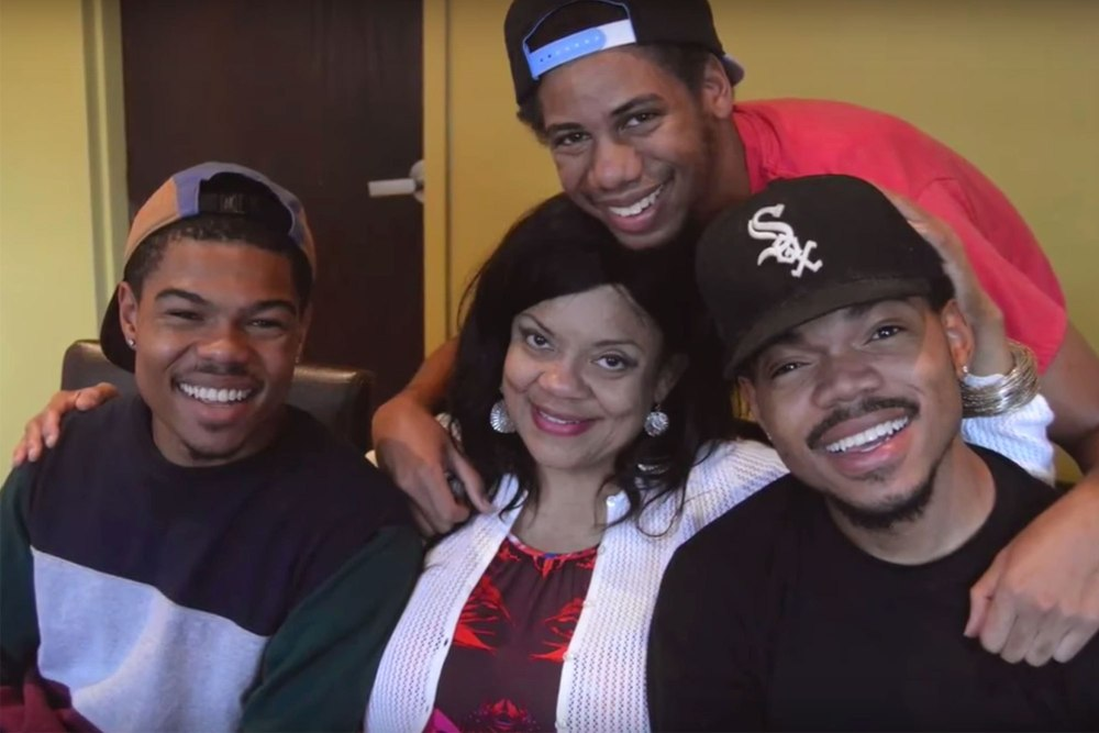 chance the rapper loses his aunt to breast cancer