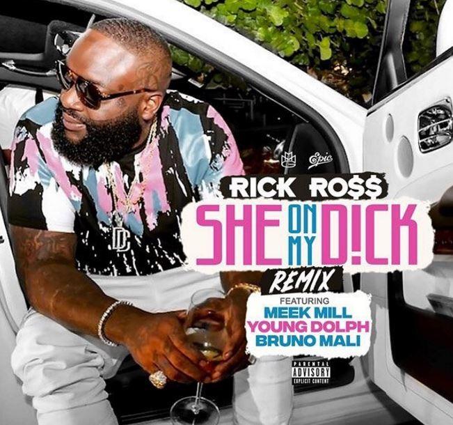 rick ross she on my dick remix