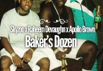 skyzoo ft raheem devaughn bakers dozen