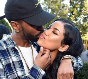 jhene aiko denies cheating on ex husband with big sean