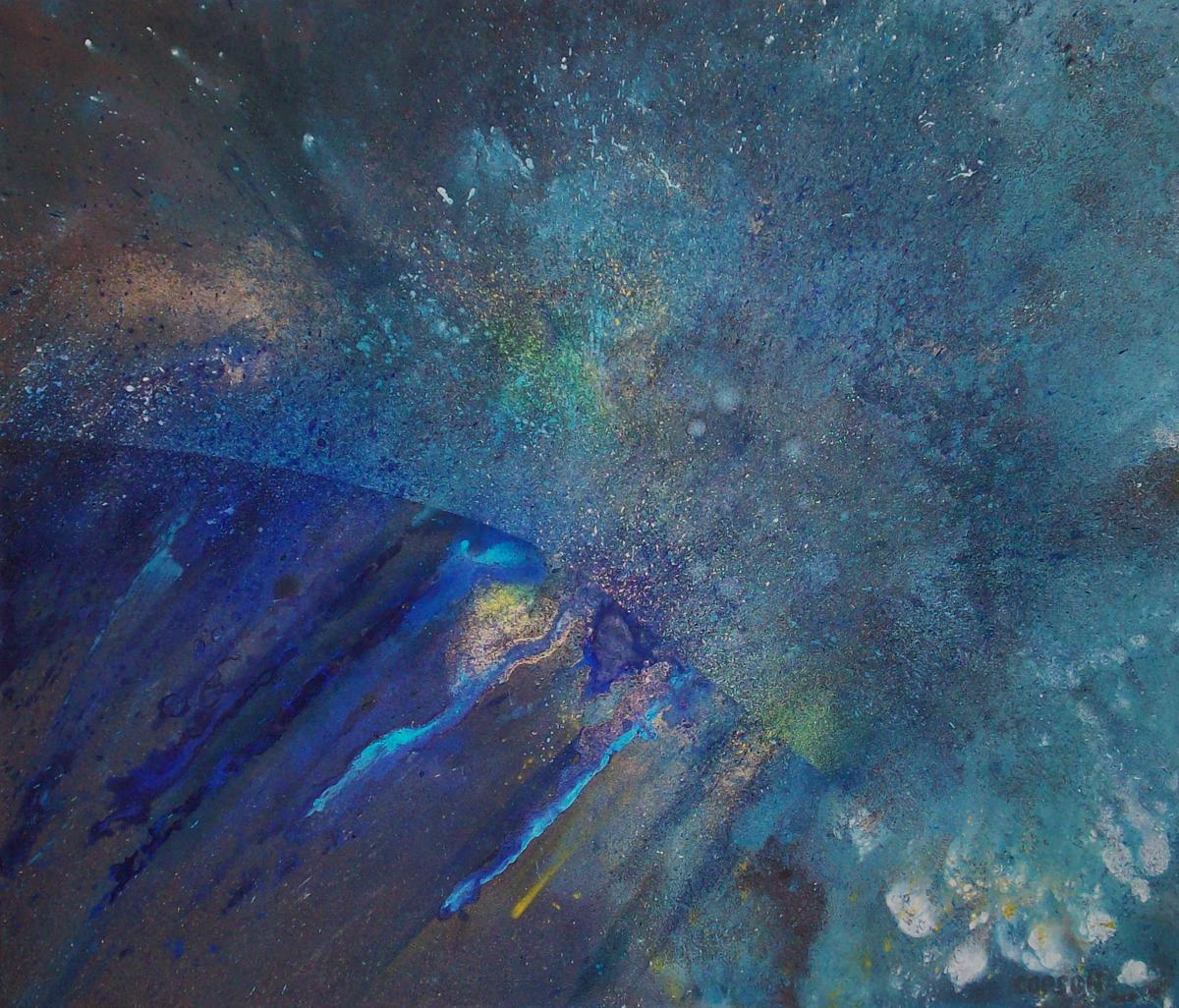 36x42 Mixed Media on Canvas