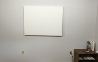 New Studio, Blank Canvas