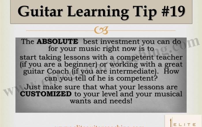 Guitar Learning Tip #19