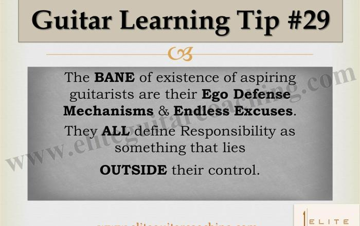Guitar Learning Tip #29