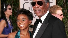 Morgan Freeman and E'Dina Hines