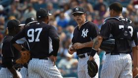 Spring Training game: Washington Nationals at New York Yankees