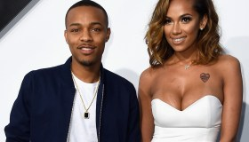 Bow Wow and Erica Mena attend Universal Pictures' 'Furious 7' premiere
