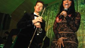 Robin Thicke's Album Release Party at Butter