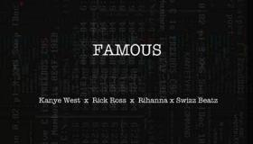 "Rick Ross ""Famous"" artwork"