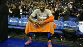 2015 Global Games - New York Knicks v Milwaukee Bucks