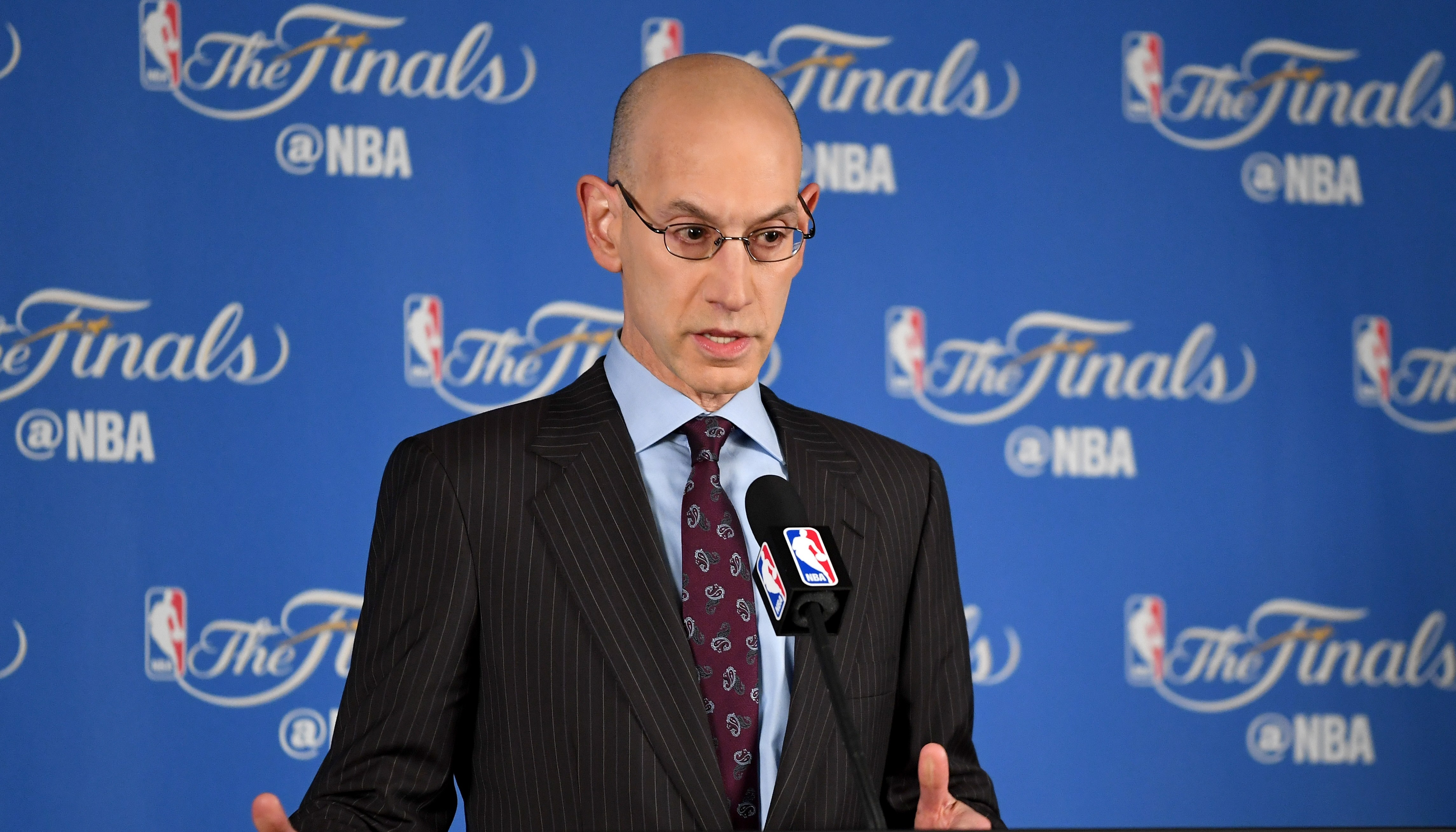 NBA Commissioner Adam Silver Press Conference