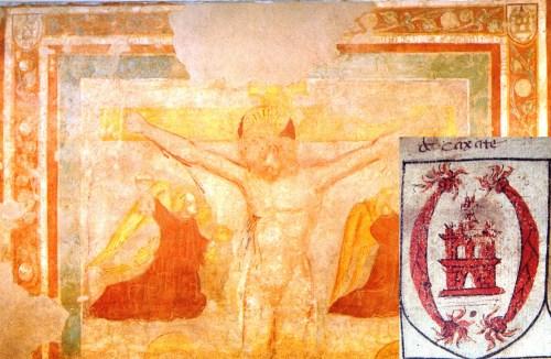 Ambrogio casati, benedetto casati, san benedetto in portesana, san carlo borromeo, centurini restauro, crocifissione, visita pastorale, stemmario trivulziano, Beulco, Gironi, Giussano, notai andrei, trezzo sull'adda, 1566