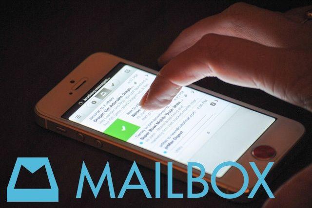 mailbox app iPhone