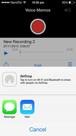 Voice messages iMessage 1
