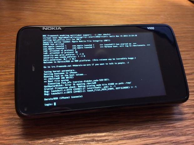 iOS port nokia 900