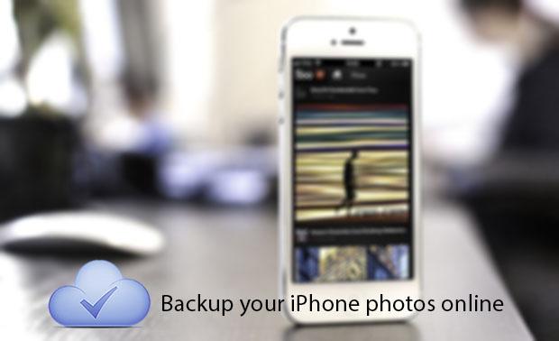 iPhone photo backup 1