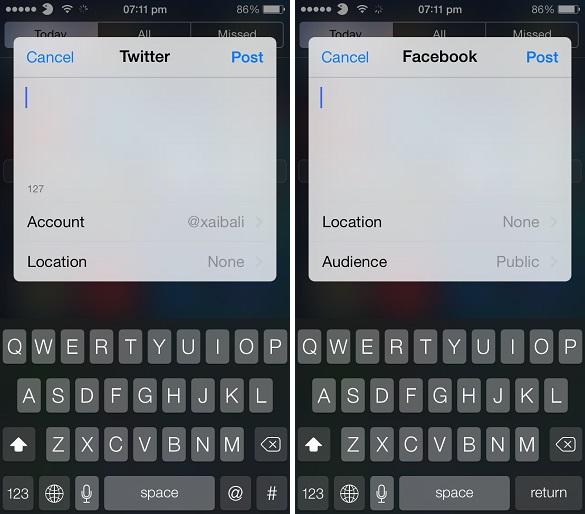 Share Widget for iOS 7 (1)