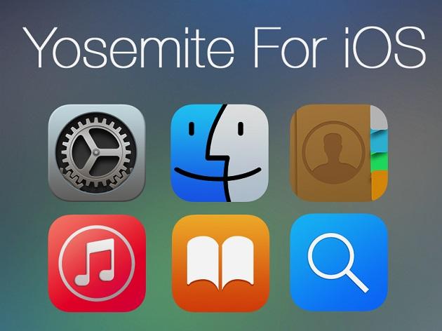 Yosemite for iOS