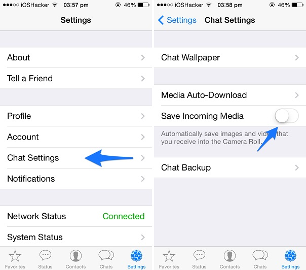 Whatsapp media download