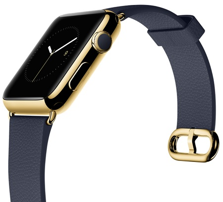 18-Karat Yellow Gold Case with Midnight Blue Classic