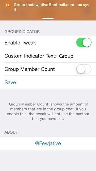 GroupIndicator tweak