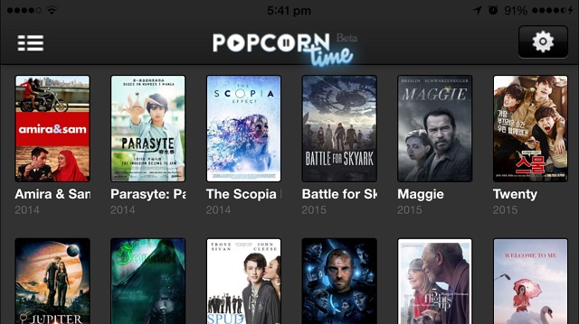 Popcorn Time For iOS 9 /9.0.1/9.0.2 Free Download For iPhone/iPad