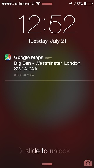 Google Maps send to device iOS (1)