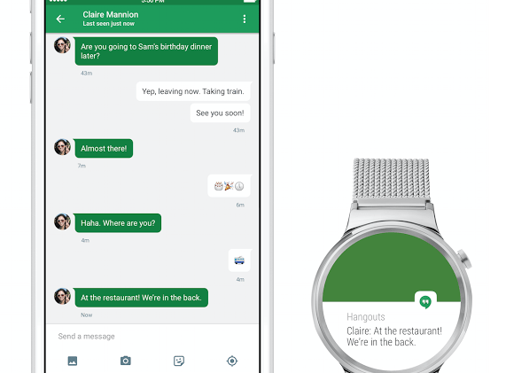 Android wear iPhone Google