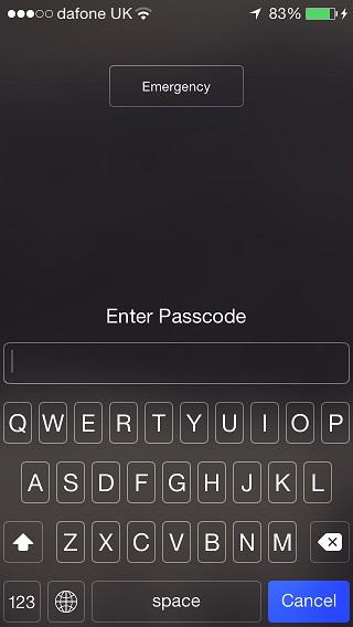 Complex passcode
