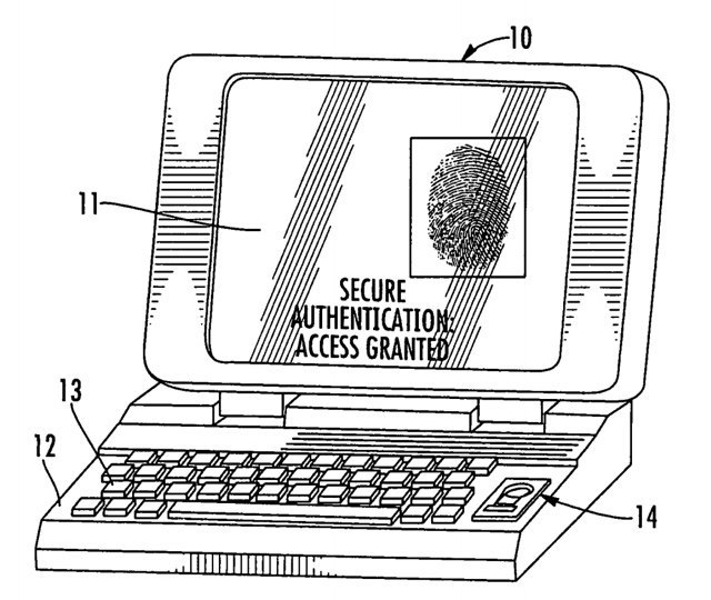 Mac Touch ID patent