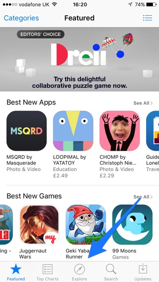 App Store refresh tip