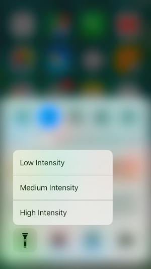 Control Center 3DTouch iOS 10