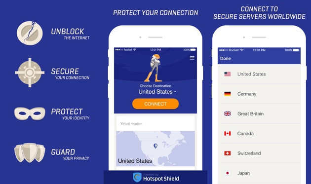Rocket VPN for iOS (1)