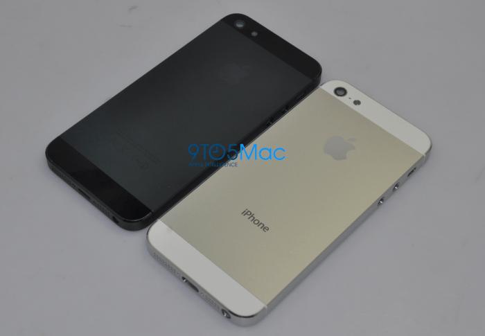 Filtrada carcasa del iPhone 5 en metal de varios colores