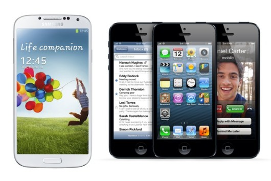El iPhone 5 resiste al Samsung Galaxy S4 en EE.UU