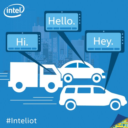 vehicle to vehicle communication IoT