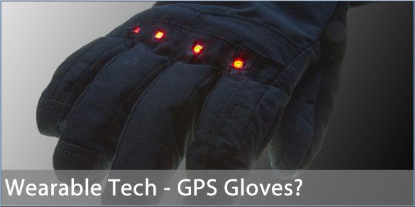 Wearable technology glove
