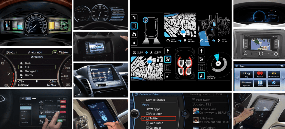 human machine interface (HMI) automotive