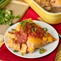 Lazy Girl's Chicken Enchilada Casserole