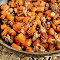 Maple Sweet Potato Hash